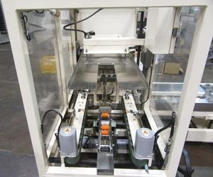 """製函機 全自動粘着テープ仕様 AF-5NS """"速度約8ケース/分,コンベア拡張タイプ """" ストラパック(STRAPAC)製 「全自動で箱を大量生産!」"""