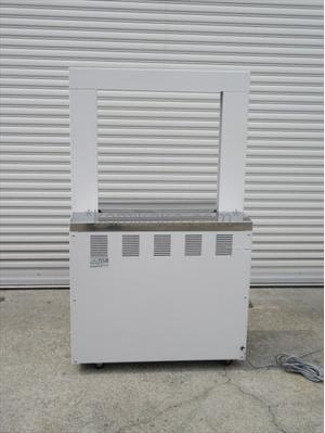"""自動結束機 Band-A-Matic(バンダマチックシリーズ)711JⅡ """"前面オープンタイプ,フットペダル搭載"""" ナイガイ株式会社(NAIGAI)製 「引締力調節可♪前面からバンドのセットができる使いやすい梱包機♪」"""